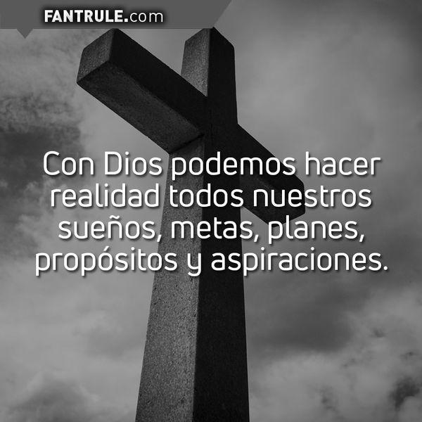 Imágenes con Frases Motivacionales de Dios Cristianas