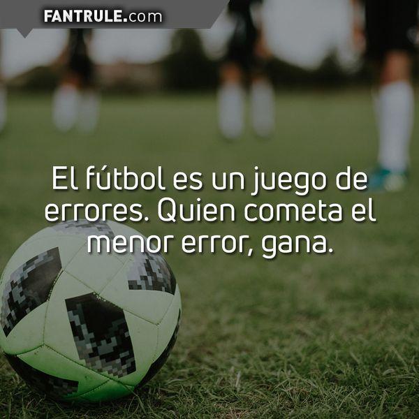 Imágenes con Frases Motivadoras de de Fútbol