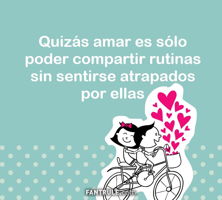 Frases de Amor Geniales Cortas para estados de Whatsapp Historias de Instagram