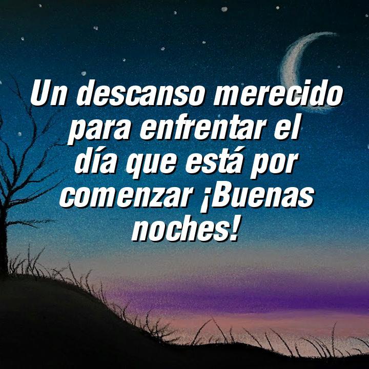 buenas noches 3 un descanso merecido para enfrentar el dia que