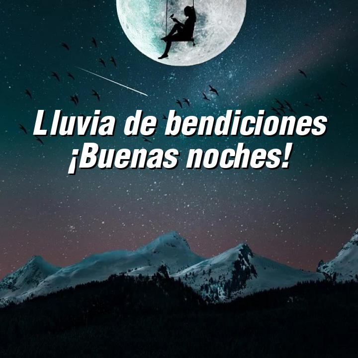buenas noches 5 lluvia de bendiciones buenas noches